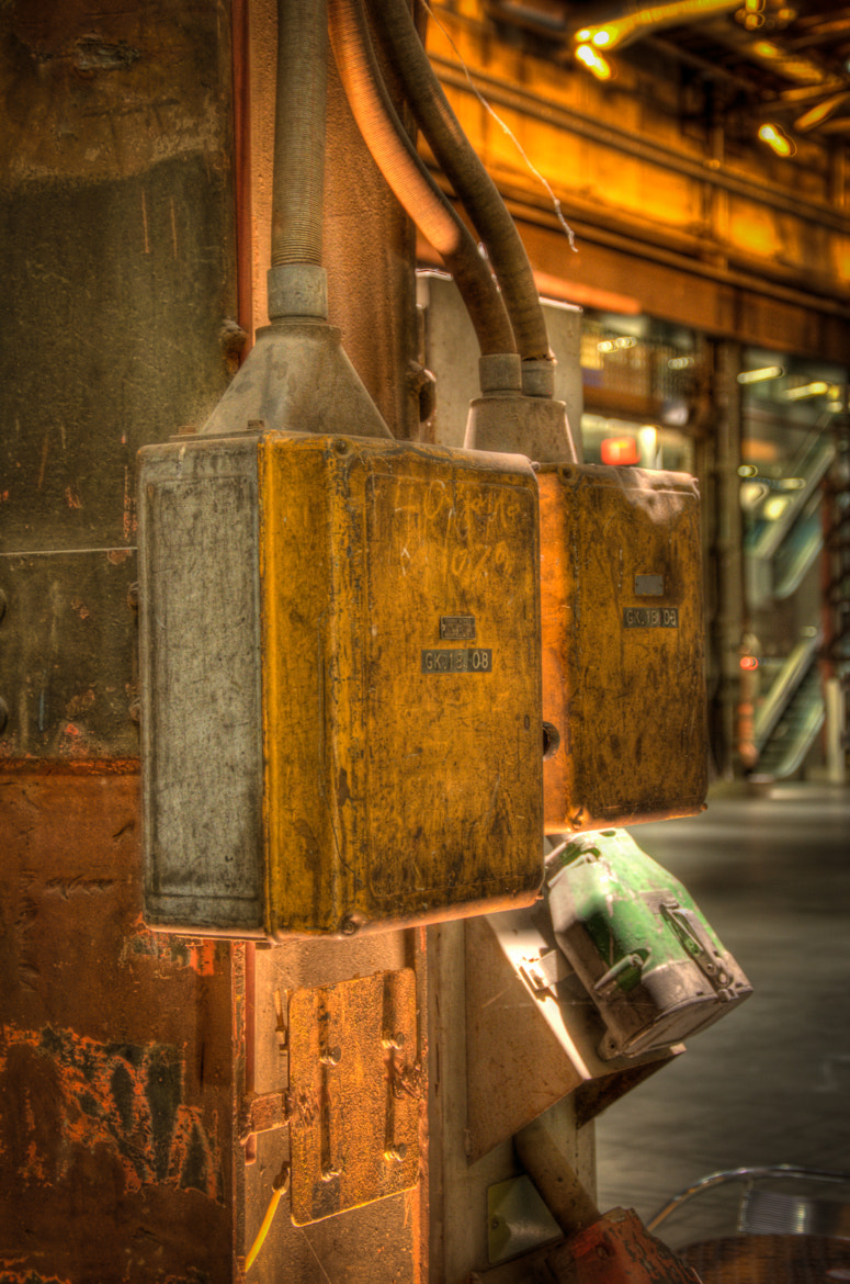 Photograph Industrial cablebox by Horst Gutmann on 500px