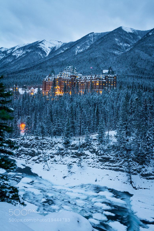 Fairmont Banff Springs Hotel By Bowen Clausen 500px