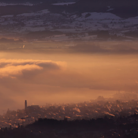 fog or smog?, Canon EOS 550D, Canon EF-S 55-250mm f/4-5.6 IS