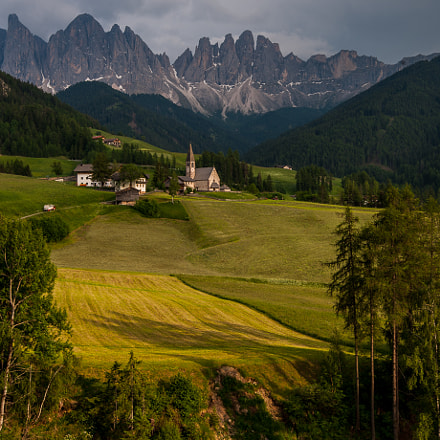 Santa Maddalena in evening, Nikon D3, AF-S Nikkor 16-35mm f/4G ED VR