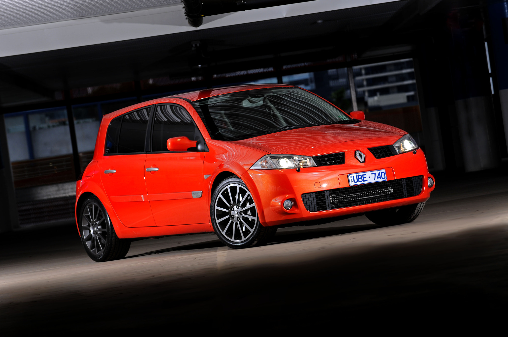 Photograph 2006 Renault Sport Megane 225 Cup - Blood Orange  by Joel Strickland on 500px