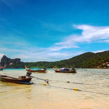 #kohphiphi #thailand, Canon EOS REBEL T3, Canon EF-S 10-18mm f/4.5-5.6 IS STM