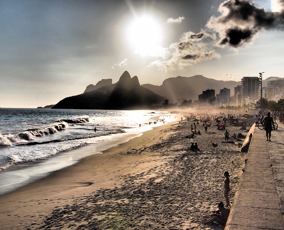 Photograph Ipanema Sunset by James Southorn on 500px