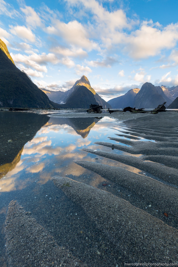 Between giants and sand by Marco Grassi on 500px.com
