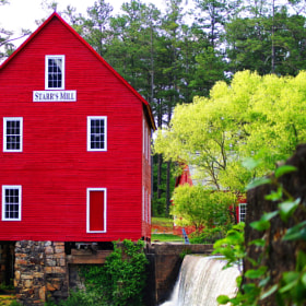 Starr's Mill Freshly Painted by Aric Jaye (Aric-Jaye)) on 500px.com