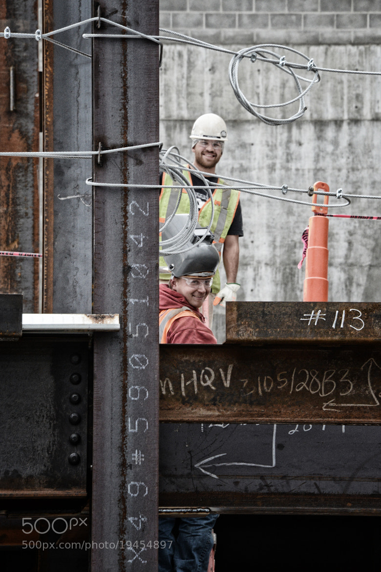Photograph Men at Work by Chad Estes on 500px