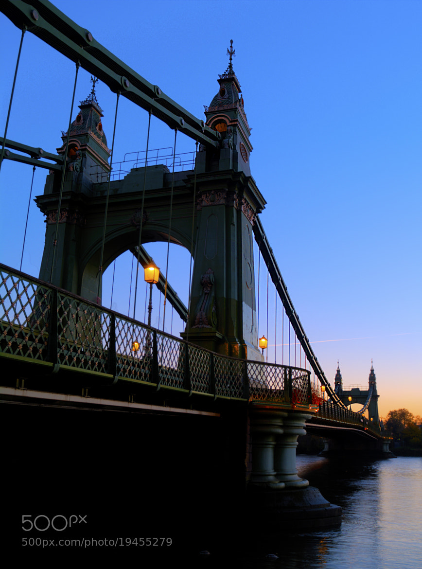 Photograph Hammersmith Bridge NW Side by Chris Maskell on 500px
