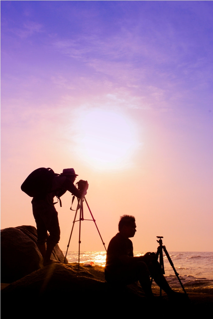 Photograph Purple Sunrise Photo Shooter by Dikmie Kimie on 500px