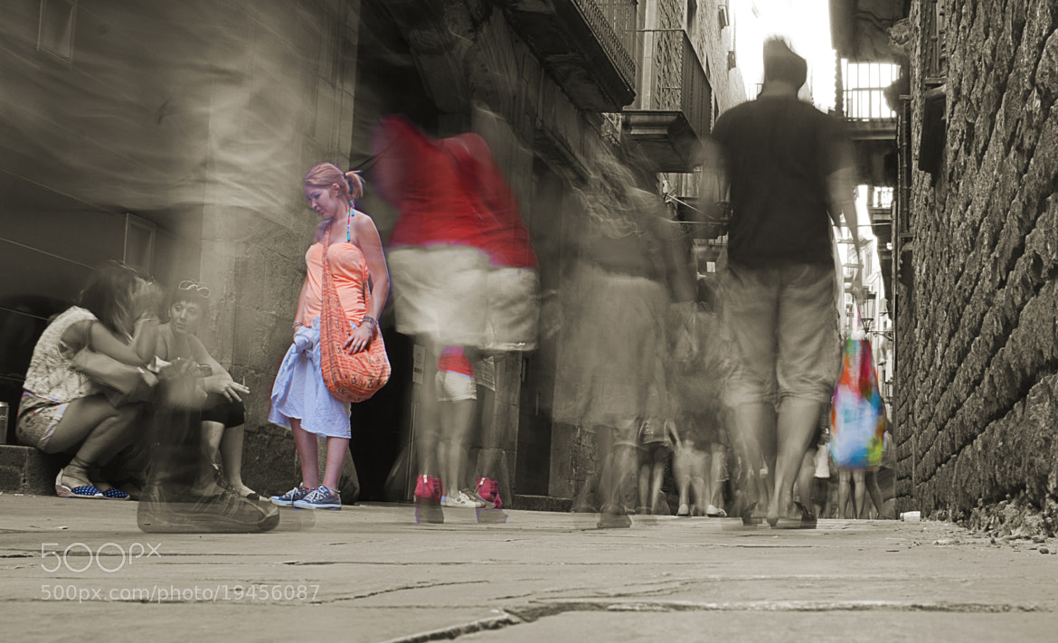 Photograph Passing through an Old, Narrow Street by DTB's Photography on 500px