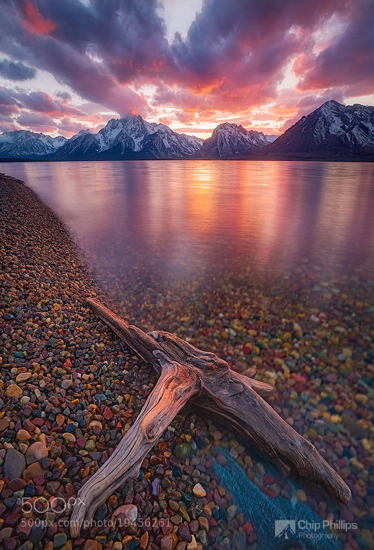 Photograph Clearing Storm Jackson Lake by Chip Phillips on 500px