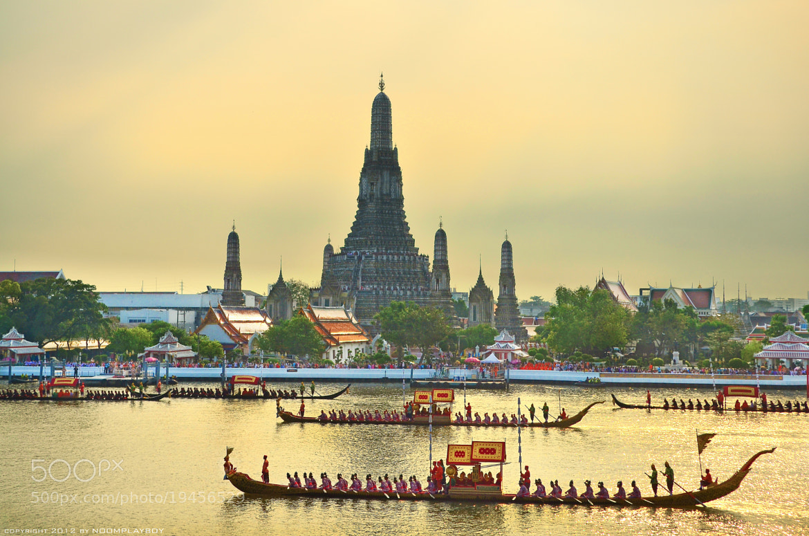 Photograph Thailand's Royal Barge Procession by noomplayboy  on 500px