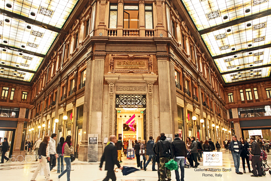 The beauty of Galleria Alberto Sordi , by miaymarch _amatteroftaste (miaymarch)) on 500px.com