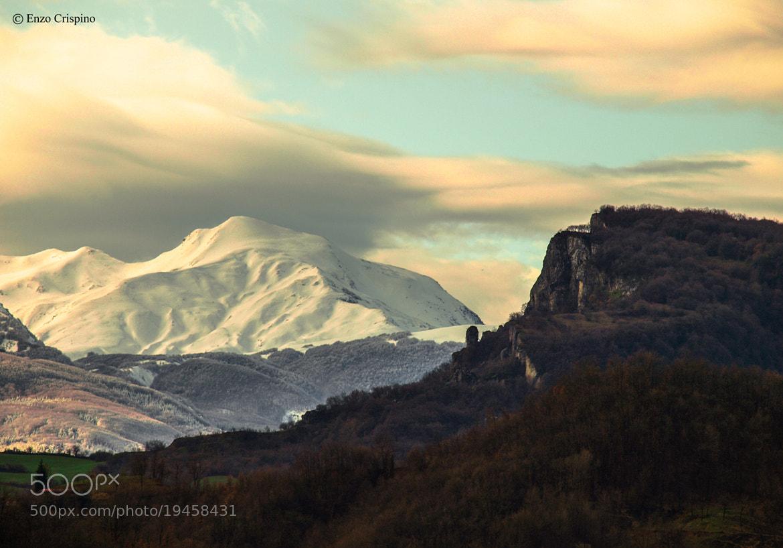 Photograph Il Monte Cusna e La Pietra di Bismantova by Enzo Crispino on 500px