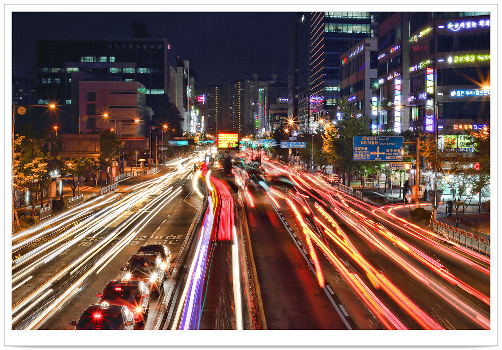 Photograph Light trails by TY Kim on 500px