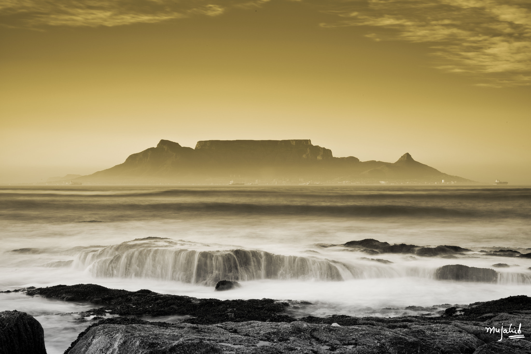 Photograph Sunrise at Table Mountain  by Mujahid UrRehman on 500px