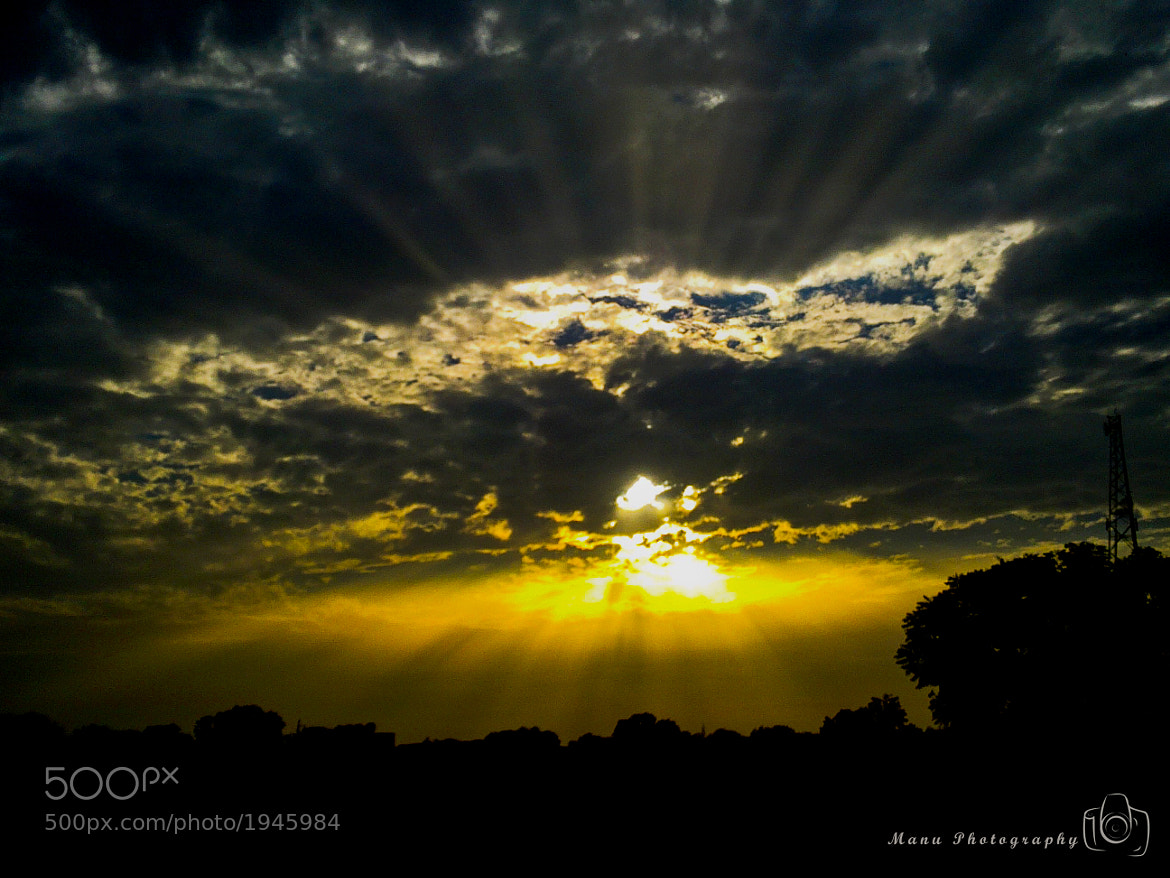 Photograph Divine Sunset by Manu Pratap Singh Bhadauria on 500px