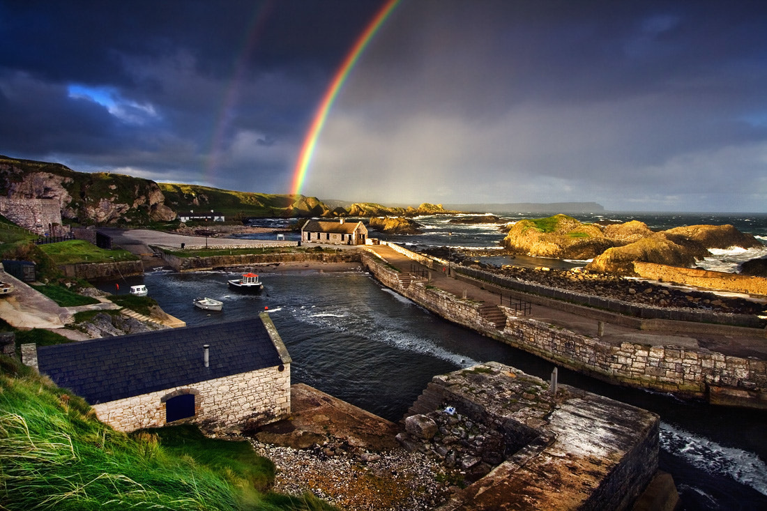 Photograph Ballintoy Rainbows by Stephen Emerson on 500px