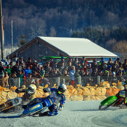 Ice speedway, Canon EOS 40D, Canon EF 75-300mm f/4-5.6