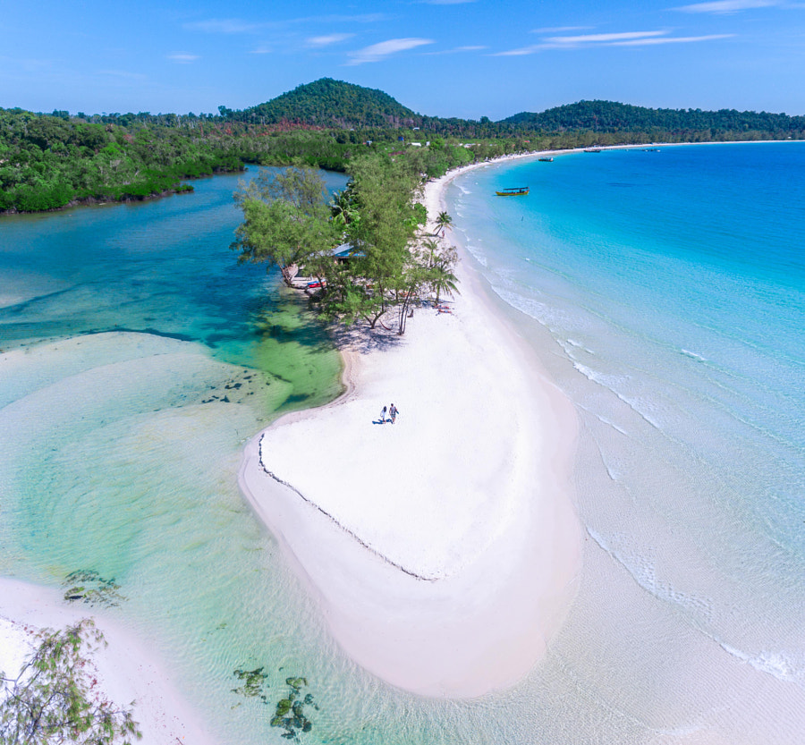 Koh rong Paradise by Jerome Courtial on 500px.com