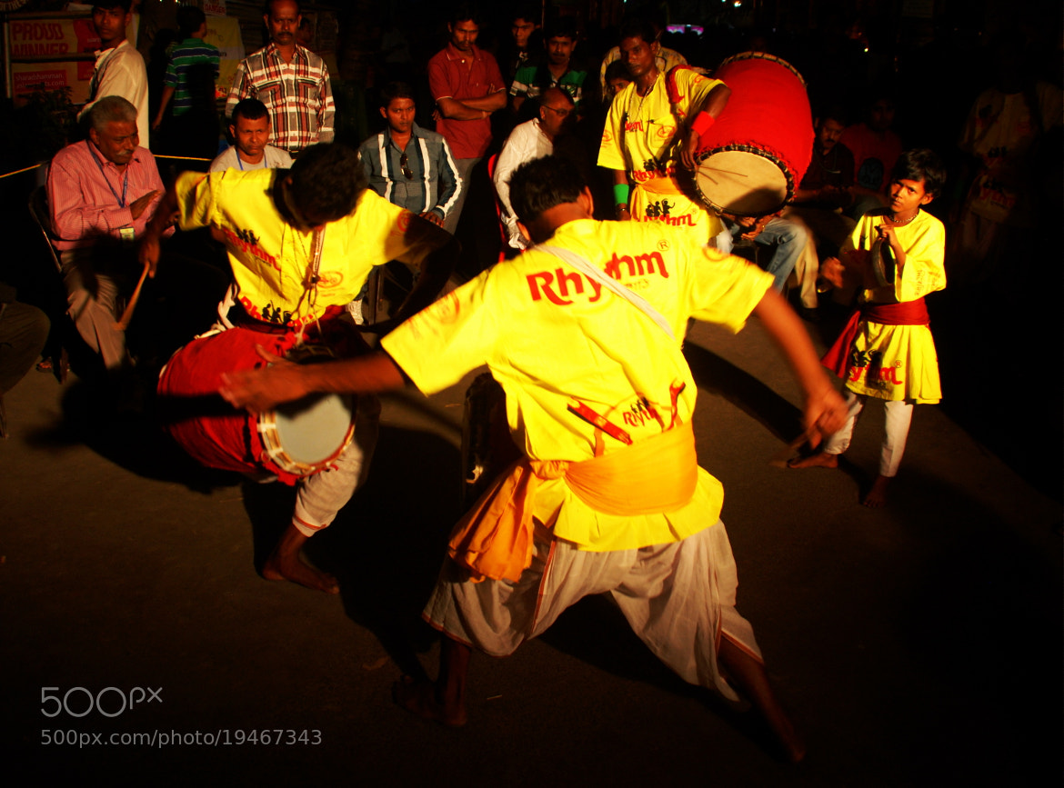 Photograph madness of the dhak by Sayan Mukherjee on 500px
