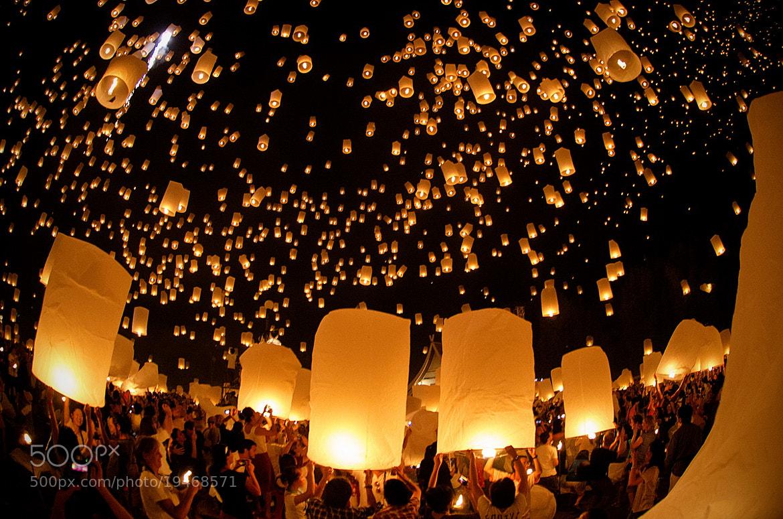 Photograph A Thousand Lanterns in Unison  by Greg Goodman - AdventuresofaGoodMan.com on 500px