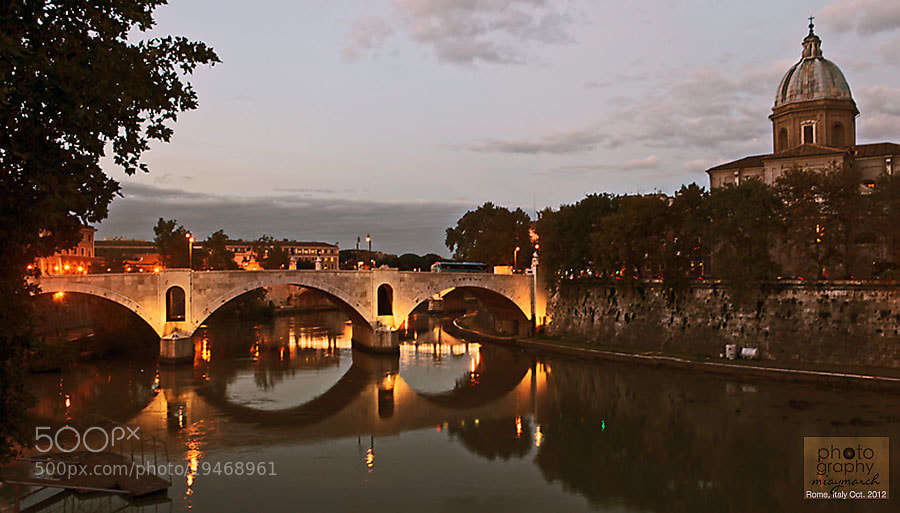 Rome by the river  by miaymarch _amatteroftaste (miaymarch)) on 500px.com