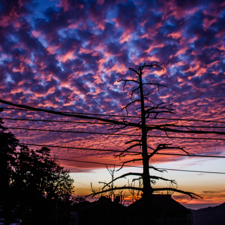 Heavenly skies, Canon EOS 550D, Canon EF-S 18-55mm f/3.5-5.6 IS II