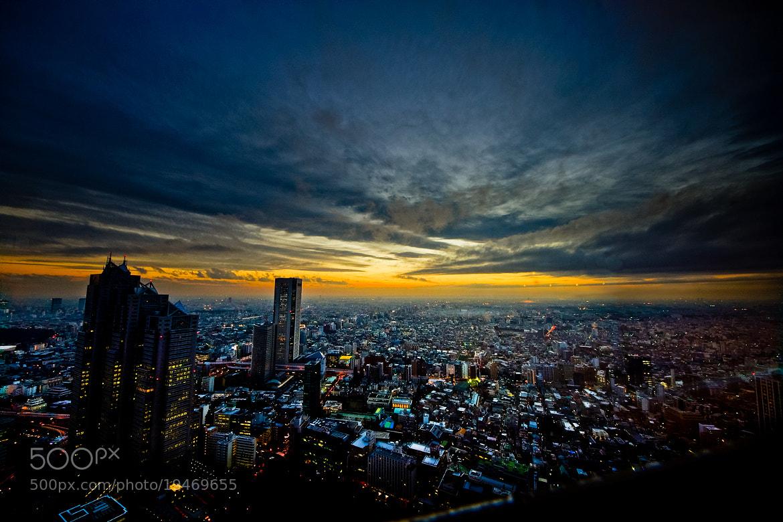 Photograph Tokyo twilight by Kouji Tomihisa on 500px