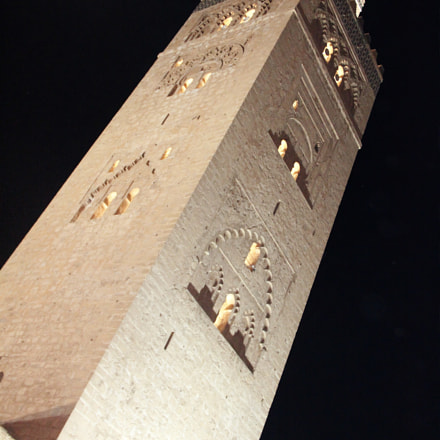 Koutoubia, Canon EOS 550D, Canon EF-S 18-135mm f/3.5-5.6 IS