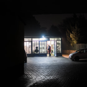 Photograph glowingGarage by Lukas Bachschwell