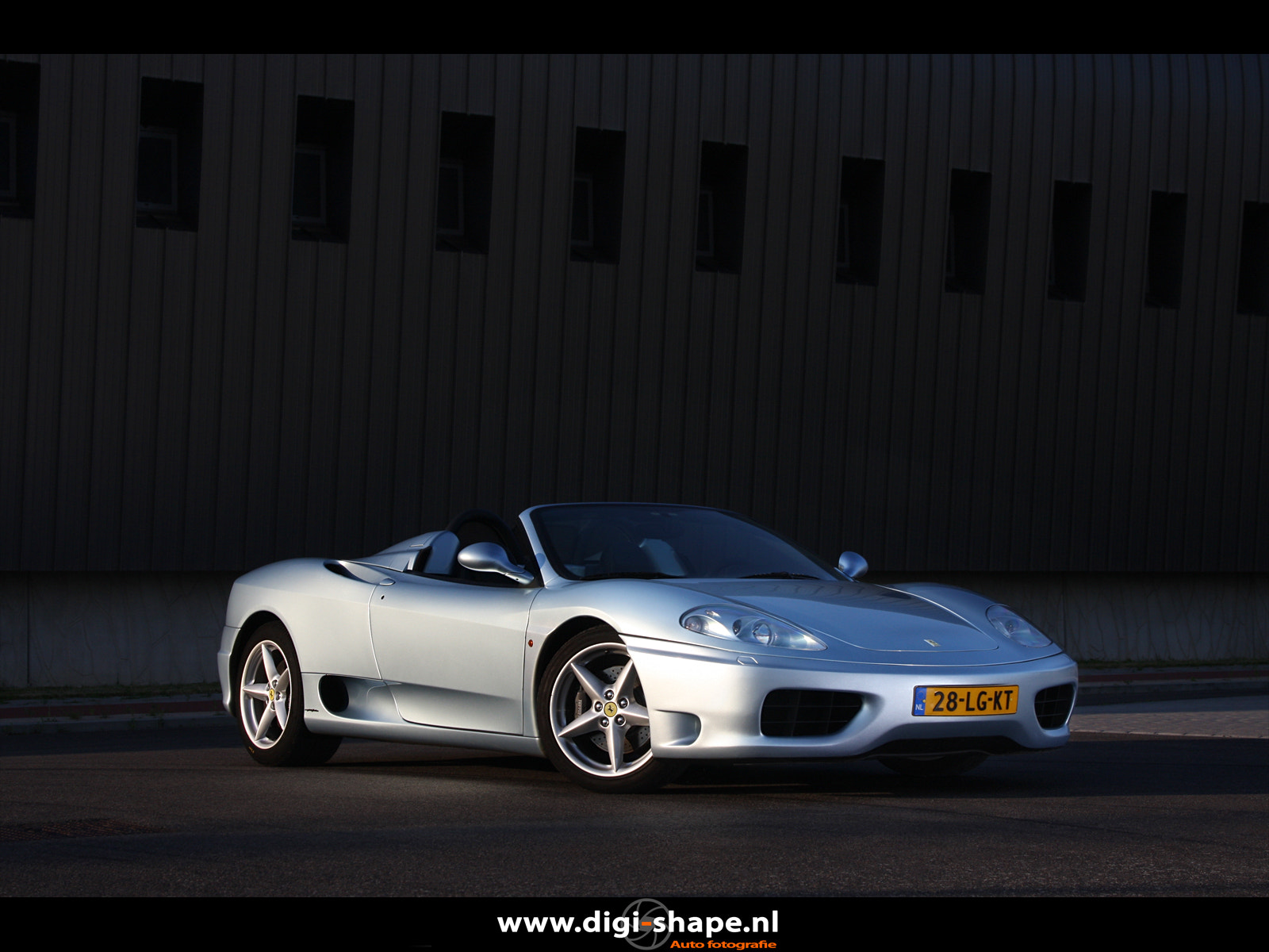 Photograph Ferrari 360 Spider in Grigio Alloy. by Peter Terpstra on 500px