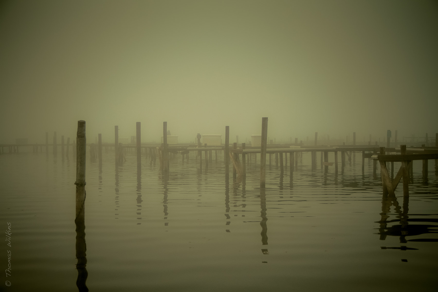 Photograph Empty Docks by Tom Wilkins on 500px