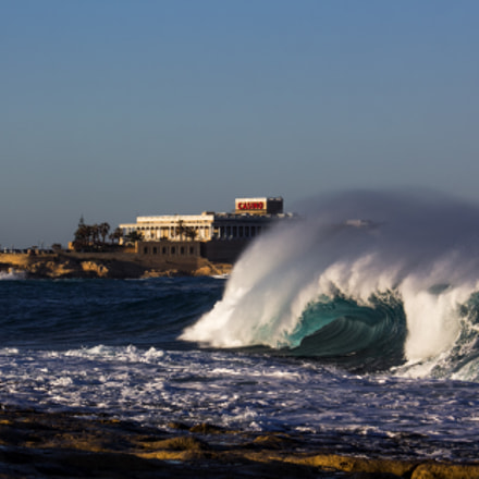Wave, Canon EOS 60D, Canon EF-S 55-250mm f/4-5.6 IS STM