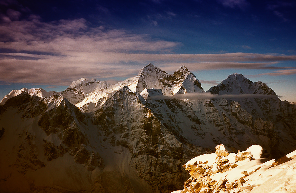 Photograph View from Camp 1 (6100m) by Luca Febbraio on 500px