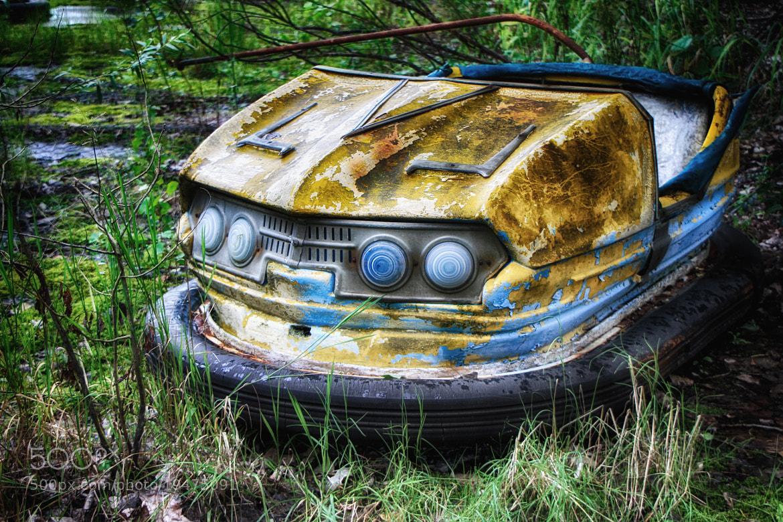 Photograph Bumper Car Pripyat by Robert Armstrong on 500px