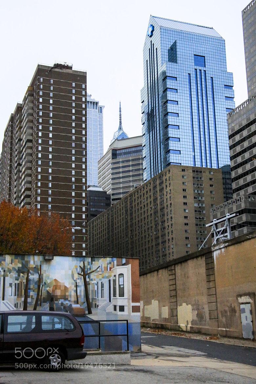 Photograph Blue Cross Building, Phila. PA by Sonny Hamauchi on 500px