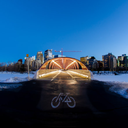 Peace Bridge, Nikon D7000, AF DX Fisheye-Nikkor 10.5mm f/2.8G ED
