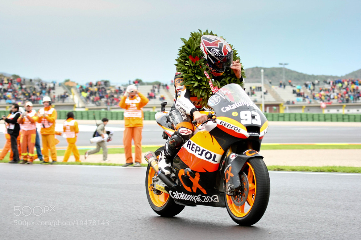 Photograph Marc marquez campeon by Carlos Gonzalez on 500px