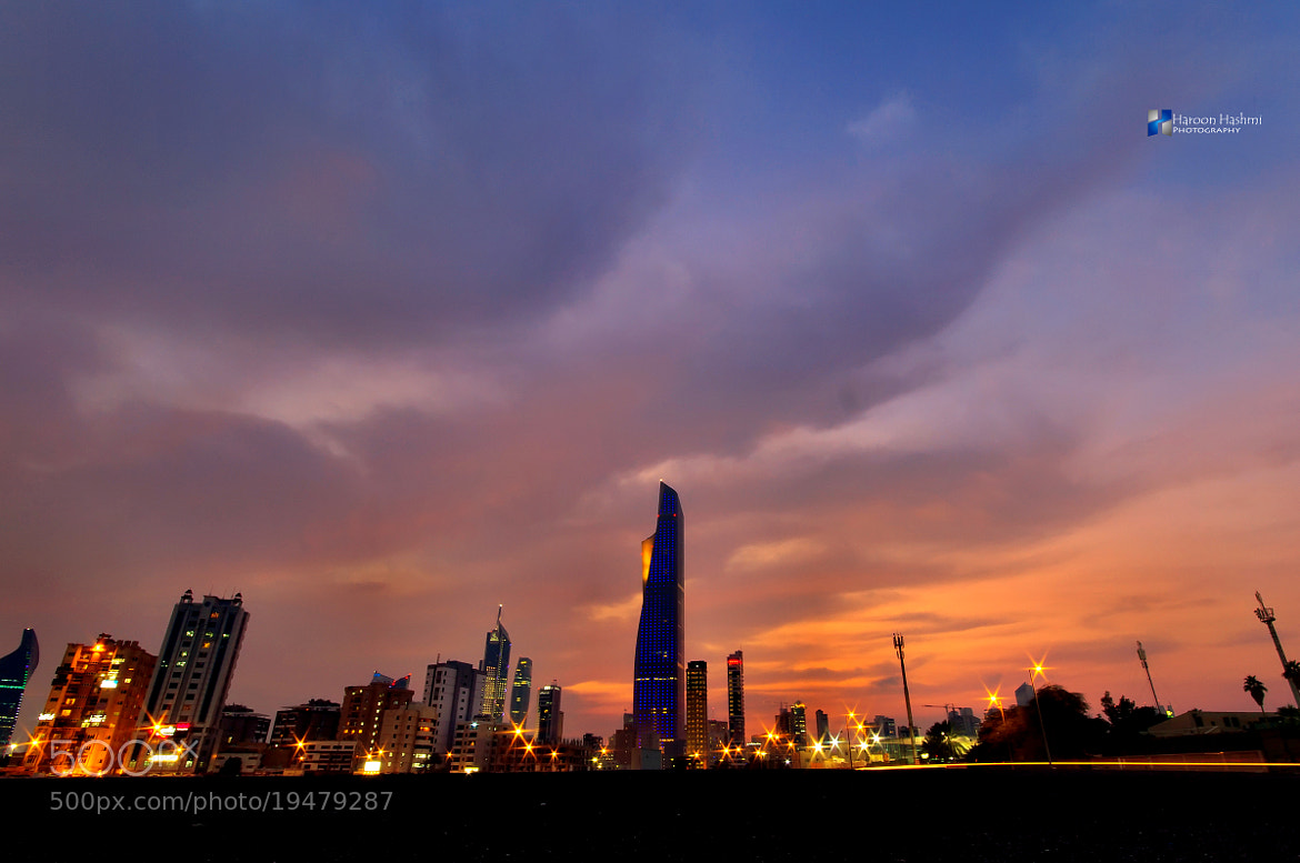 Photograph Clouds with red color by Haroon Hashmi on 500px