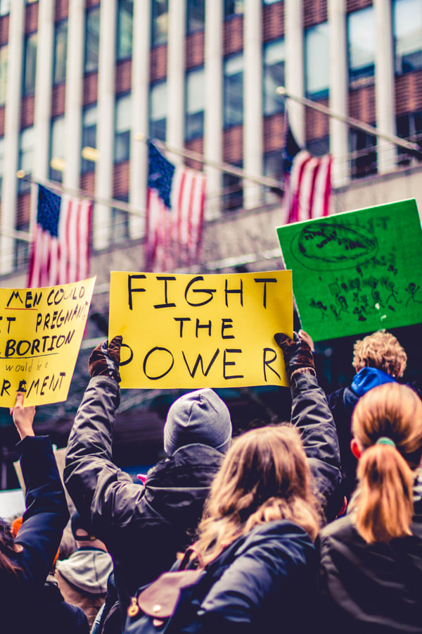 Fight The Power by Darrell Hanley on 500px.com