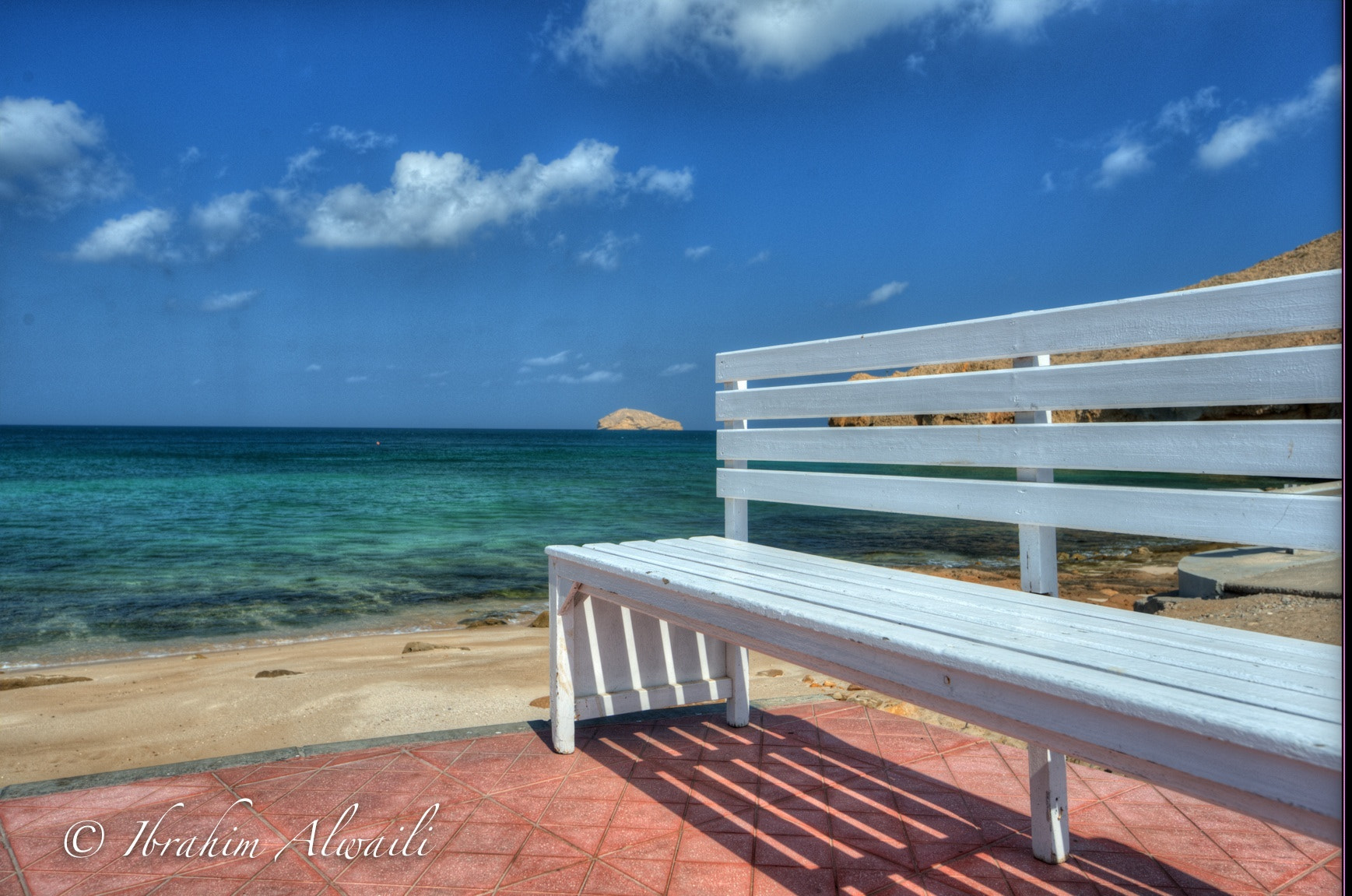 Photograph Alone by the sea by Ibrahim AlWaili on 500px
