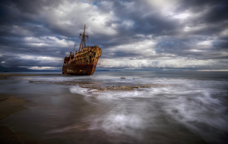 The other size of the Shipwreck by panagiotis laoudikos