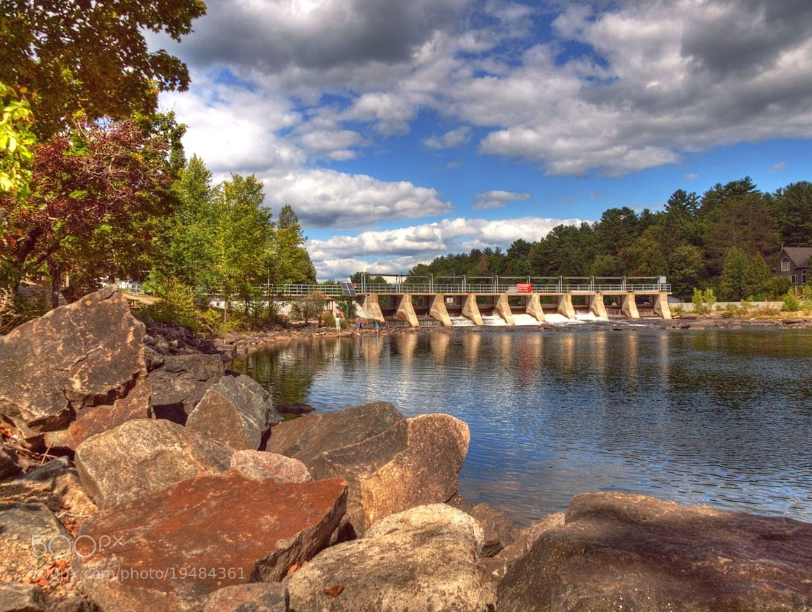 Photograph Baysville Dam by Grant MacDonald on 500px