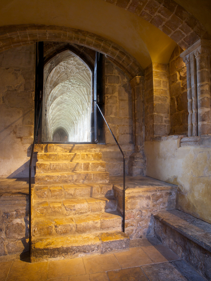 Photograph Monks' stairs, Gloucester cathedral by Jon Sketchley on 500px