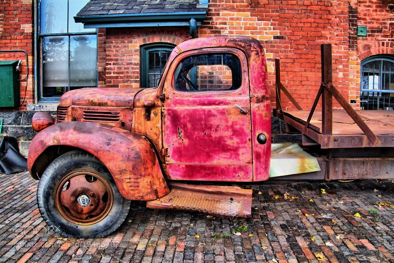 Photograph truck by Andrzej Pradzynski on 500px