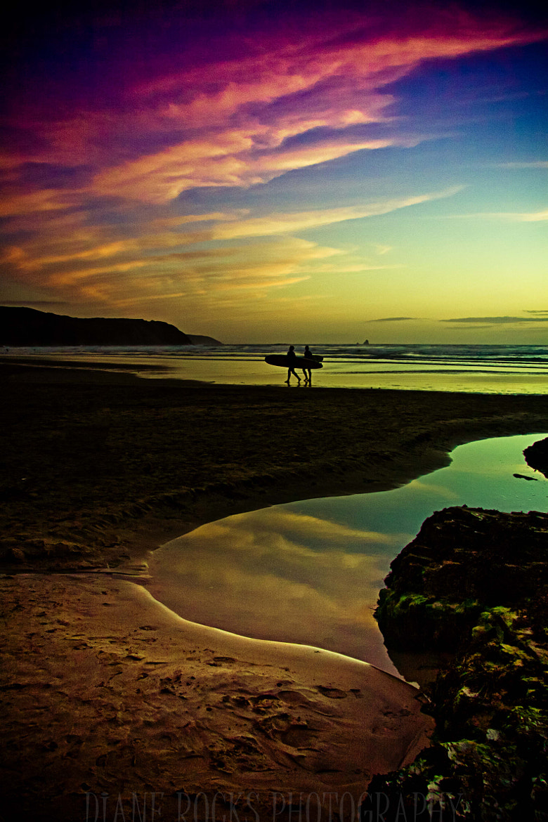 Photograph Sunset Surfed by Diane Noles on 500px