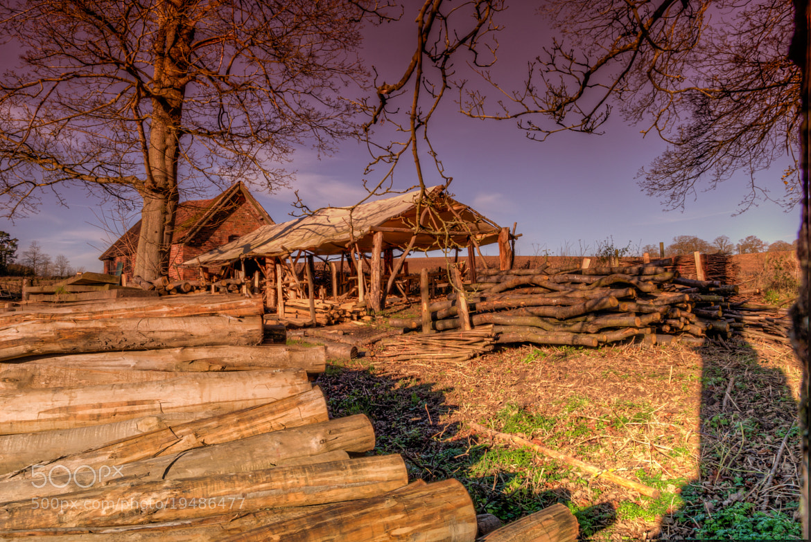 Photograph The Wood Cutter's Office In Sepia Effect  With A Difference by Richard Wise on 500px