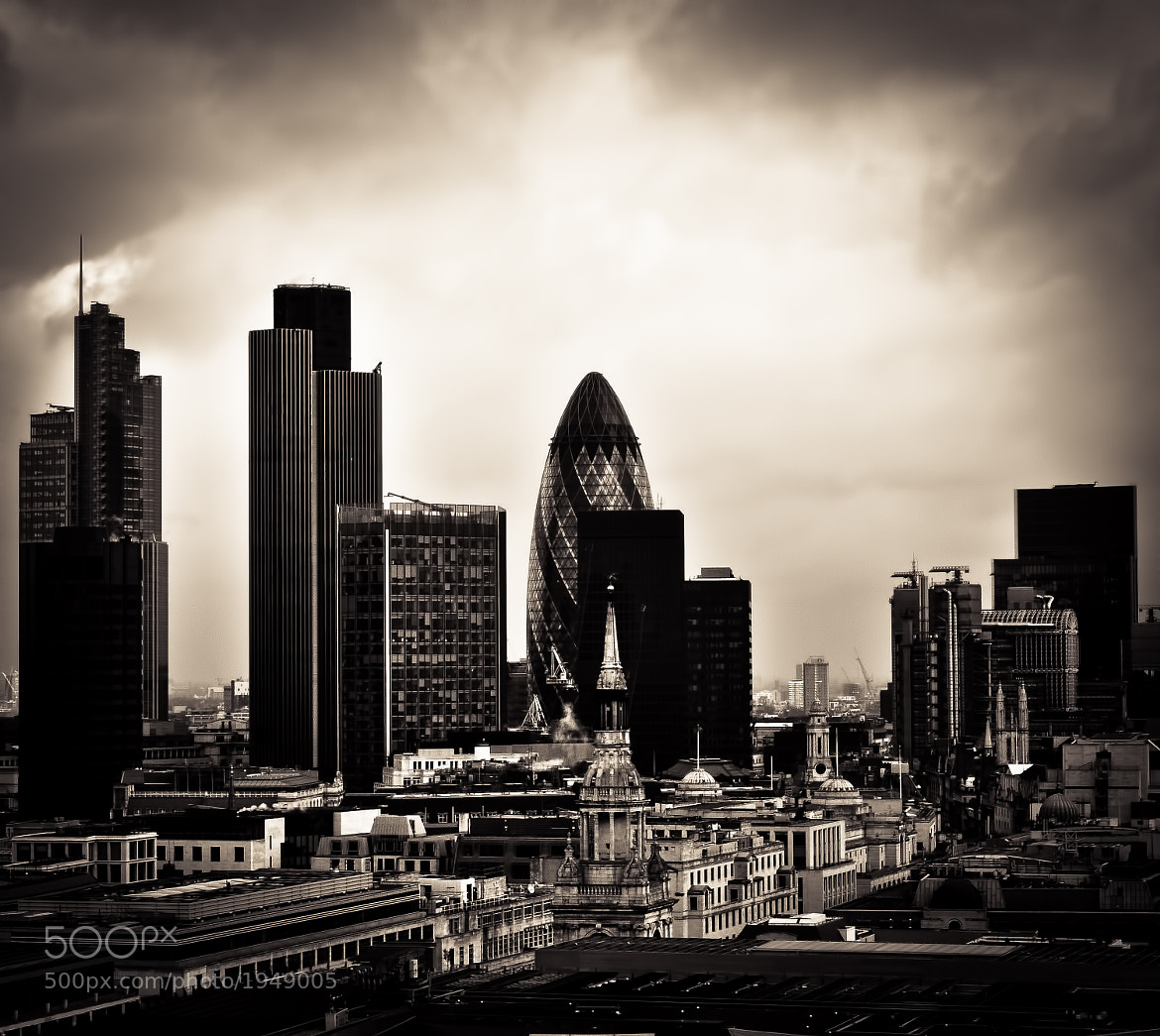Photograph City of London by .Vulture Labs on 500px