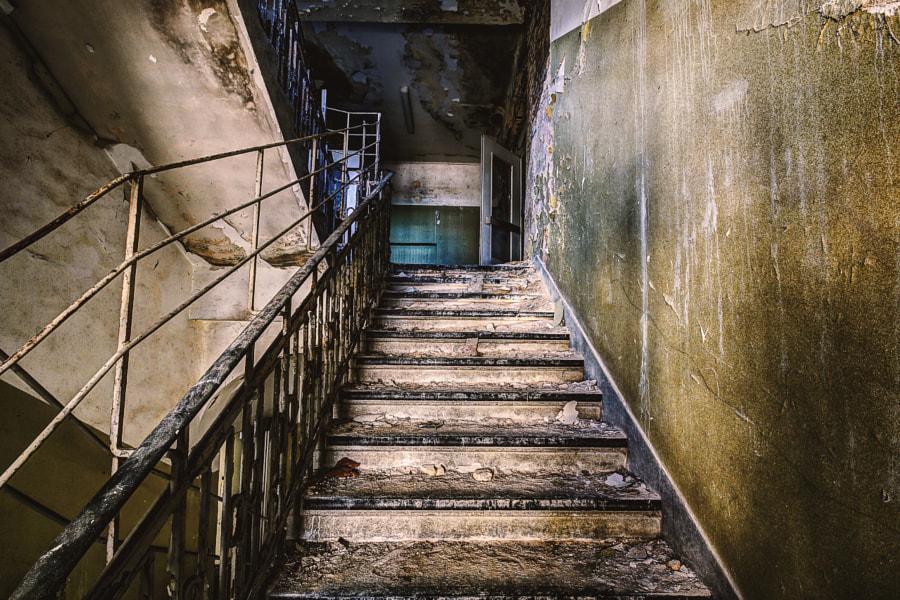 Stairway in Kent School