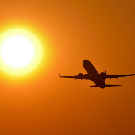 sunrise munic airport, Nikon D7000, Sigma APO 100-300mm F4 EX IF HSM